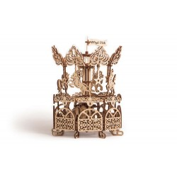 Wooden 3D puzzle Wood Trick - Carousel