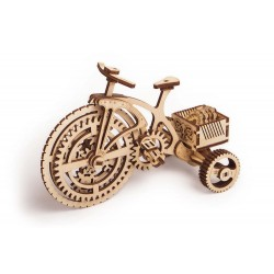 Wooden 3D puzzle Wood Trick - Bicycle