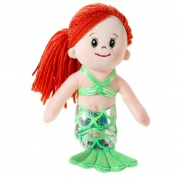 "Poupetta ""Little Mermaid"" red-haired, Heunec, 23cm"