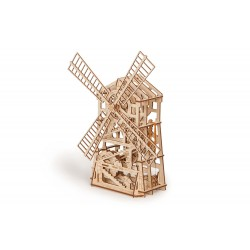 Wooden 3D puzzle Wood Trick - Windmill