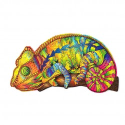 Wooden puzzle Wood Trick - Colorful Chameleon