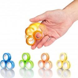 Магнитни пръстени за трикове с пръсти, комплект от 3...