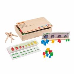 Игра за сортиране с мечета, с пинсети, Educo