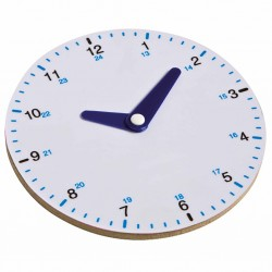 Clock round up to 24 - analogue, Jegro