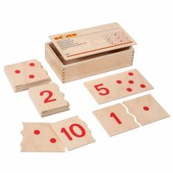 Number puzzle 1-10 Educo