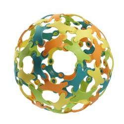 Конструктор от биопластмаса Binabo, 60 части, 4 цвята