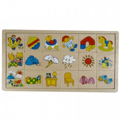 Puzzle Match the pictures, Pino