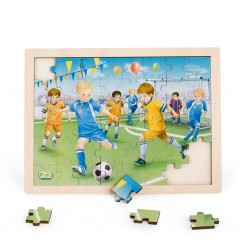 Wooden puzzle Pino, 48 elements, Football