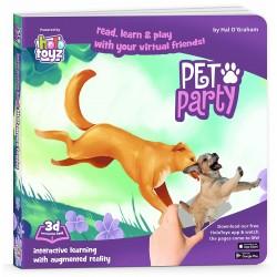 Interactive Book, HoloToyz - Pet Party