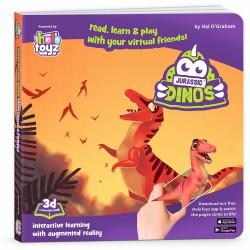 Interactive Book, HoloToyz - Jurassic Dinos