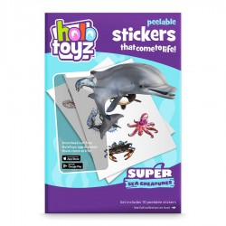 Augmented Reality Stickers, HoloToyz - Super Sea Creatures