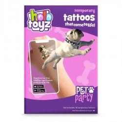 Временни татуировки с Augmented Reality, HoloToyz -...