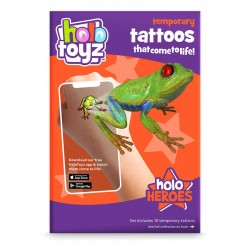 Augmented Reality Temporary Tattoos, HoloToyz - Holo Heroes