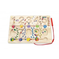 Magnetic Bead Trace - Numbers, Viga