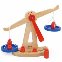 Wooden Balance Scales, Viga