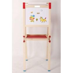 Детска магнитна дъска за рисуване, Alphabet, SONNE