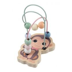 Лабиринт с дървени мъниста - Маймунка, The Wildies...