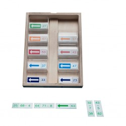 Math dominoes subtraction up to 20, Jegro