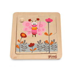 PINO Mini puzzle Butterfly (4 elements)