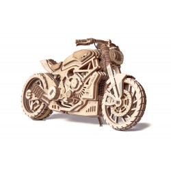 Wooden 3D puzzle Wood Trick - Motorcycle DMS