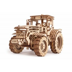 Wooden 3D puzzle Wood Trick - Tractor