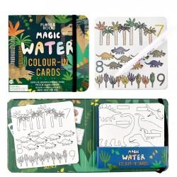 Magic Colour Changing Water Cards - Dinosaur - Floss&Rock