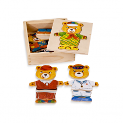 PINO Bear Dress up Puzzle...