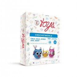 Owls - Creativity Set Thinx Toys Crochet World