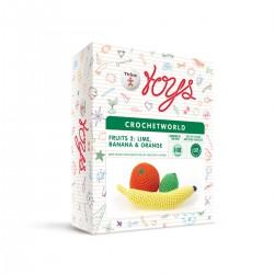 Плодове - Креативен комплект за плетене Thinx Toys...