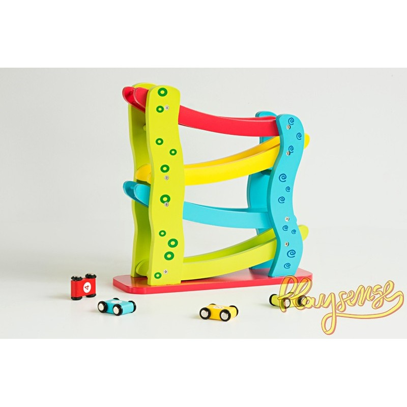 Wooden Mini Car Roller Playsense
