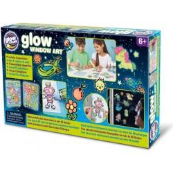 Glow Window Art, brainstorm