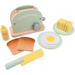 Wooden Toaster Play Set, Joueco