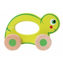 Turtle - Wooden Rolling Animal