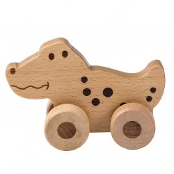 Crocodile - Wooden Rolling...