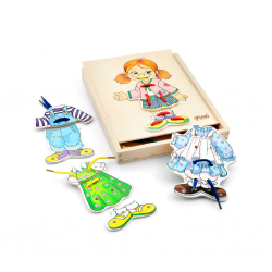 PINO Lacing Puzzle Girl