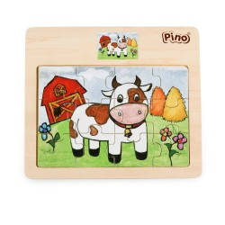PINO Cow Puzzle (12 elements)