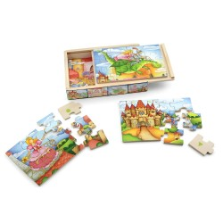 Fairy tale - PINO Puzzle set 12/4