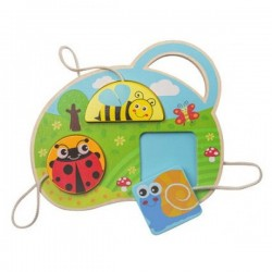 Wooden Shape Puzzle - Insects