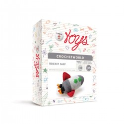 Rocket Ship - Creativity Set Thinx Toys Crochet World
