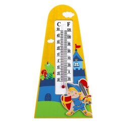 Knight - Wooden Thermometer...
