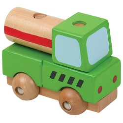 PINO Mini 3D wooden puzzle Mobile mixer