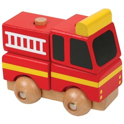 PINO Mini 3D wooden puzzle Fire truck