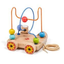 Дървена играчка за дърпане...
