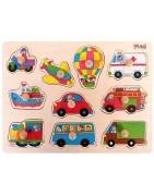 Peg puzzles Pino